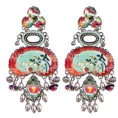 Setty Gallery - Ayala Bar Lullaby Post Earrings, $221 (http://www.settygallery.com/ayala-bar/ayala-bar-lullaby-post-earrings/)