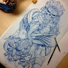 Awesome Sleeve Design Jaromir Mucowski