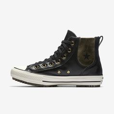 803d1362c81c Converse Chuck Taylor All Star Leather and Faux Fur Chelsee Women s Boot  Size 9.5 (Black)