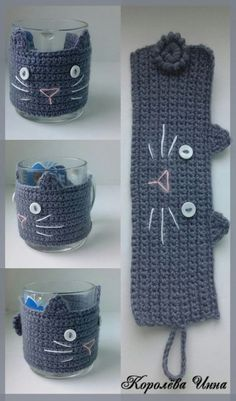 Crochet afghans 598204762992691424 - Crochet afghans 625437466981213249 – Cubretazas al crochet de gatitos – imperdibles! DIA DEL AMIGO 🙂 by Divonsir Bor… – Diana Del Valle – Source by catherine_donni Source by Chat Crochet, Crochet Mignon, Crochet Coffee Cozy, Crochet Cozy, Crochet Amigurumi, Crochet Gifts, Coffee Cozy Pattern, Crochet Cat Toys, Coffee Cup Cozy