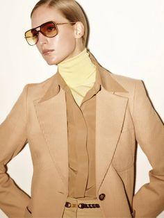 Combi Navigator in Gold Honey | Victoria Beckham