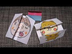 kimie gangiの工作教室 絵が変わり続ける4面カードの作り方Ver.2 - YouTube