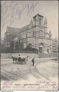 GE Geneva - Eglise Notre-Dame, Genève, 1901 - Charnaux Frères CPA