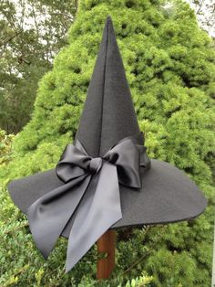 October: Halloween hide and Seek Witch Hat Halloween Witch Hat, Holidays Halloween, Halloween Diy, Happy Halloween, Halloween Decorations, Witch Hats, Diy Witch Hat, Halloween Night, Witch Costumes