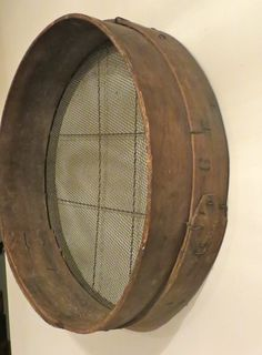 Primitive Wood Sifter