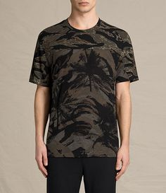 AllSaints New Arrivals: Palm Camo Crew T-Shirt