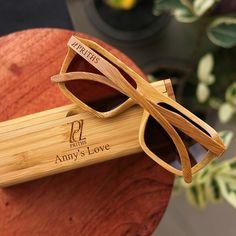 2ec5e2ee7b The Biker - brown bamboo rectangular wooden sunglasses