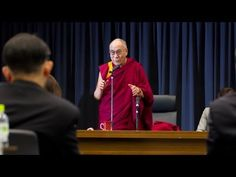 """His Holiness talks about the new global reality of interdependence and the oneness of humanity in this short clip from his talk """"Human Values and Universal Responsibility"""" 11/14/12"""