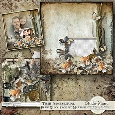 Scrapbooking Digital free Quick Page