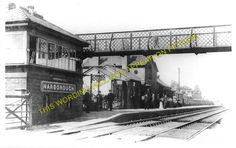 Narborough Railway Station Photo. Blaby - Croft. Leicester to Nuneaton Line. (2)
