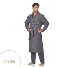 The best quality & fantastic looks - Timone bathrobes | shop here: http://goo.gl/fIkSZY