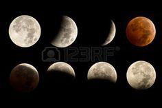 月の満ち欠け画像まとめ