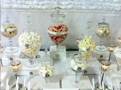 Bling candy table
