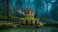 sintra portugal - if i go back, i'm going here. it's like a fairy village!