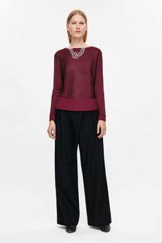 COS | Fine-knit cropped jumper