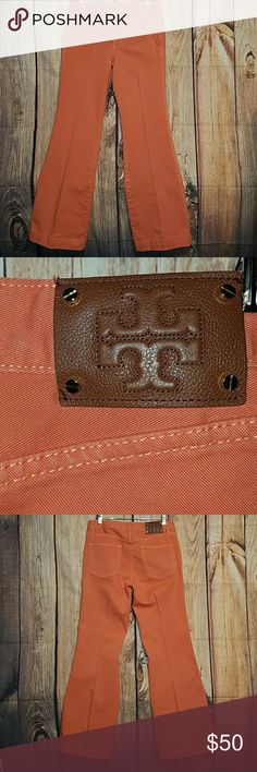 TORY BURCH WIDE LEG FLARE (29X32) TORY BURCH FLARE WIDE LEGS, HIGH RISE JEANS IN PREFECT CONDITION Tory Burch Jeans Flare & Wide Leg
