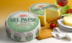The gorgeous countryside named Lombardy is known as origin place of Bel Paese. This variety offers the taste of fairly mild, soft and creamy in a form of delicious combination. With the use of table #cheese the user will get the excellent contrast.