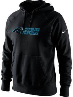 Nike Men's Carolina Panthers NFL Lockup Cotton Hoodie