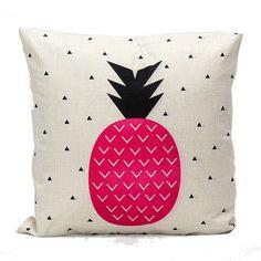 Capa de Almofada Abacaxi Pink