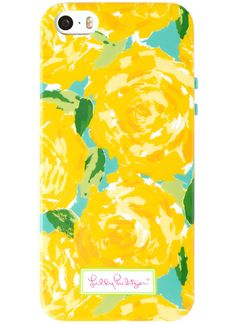 Lilly Pulitzer iPhone Case in Sunglow Yellow First Impression Accessories Small