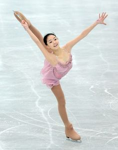 Zijun Li. Absolutely beautiful performance in 2013 figure skating world championships.  Hope to see her in Sochi!