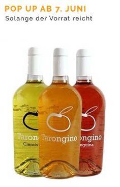Orangenwein von Tarongino