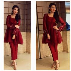 Latest Peplum Tops Designs And Short Frocks Collection Pakistani Formal Dresses, Pakistani Dress Design, Pakistani Outfits, Indian Dresses, Indian Outfits, Pakistani Clothing, Indian Designer Outfits, Designer Dresses, Kurta Designs