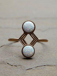 Opal cuff