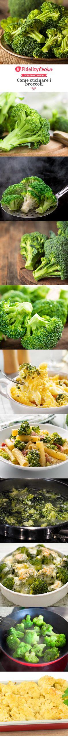 Come cucinare i broccoli Food, Eten, Meals, Diet