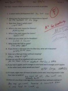 Smart Ass or Genius? LOL