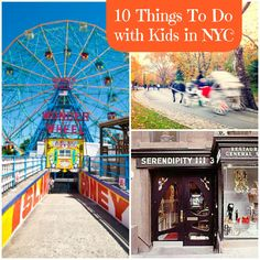 I grew up visiting my dad in NYC. Here are ten things I did when I was little that I can't wait to share with my daughters.