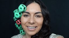 Curling Your Hair With Heated Rollers Media Makeup (+playlist) www.mediamakeup1.com