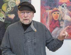 I cut out the time - painting exhibition #GeorgLipinsky, #Uelzen, Germany #Rataje #ZSLG #ZSLGRataje