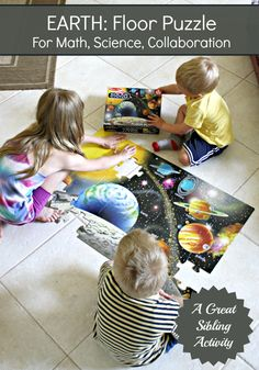 The Educators' Spin On It: Learning about Earth Through Play | Solar System Floor Puzzle