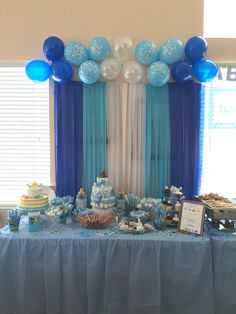 DIY Baby Shower Centerpieces - mybabydoo : Jr DIY Baby Shower Centerpieces - mybabydoo : Jr bautismo Cookie Monster Baby Shower Party - Baby Shower Ideas - Themes - Games 57 The Little Known Secrets To Baby Shower Ideas For Girls Themes Baby Shower Backdrop, Boy Baby Shower Themes, Baby Shower Balloons, Baby Boy Shower, Bricolage Baby Shower, Decoracion Baby Shower Niña, Diy Baby Shower Centerpieces, Deco Ballon, Baby Shower Desserts
