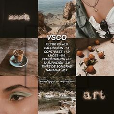 Discover recipes, home ideas, style inspiration and other ideas to try. Photography Filters, Photography Editing, Foto Filter, Fotografia Vsco, Feeds Instagram, Best Vsco Filters, Vsco Effects, Vsco Themes, Photo Editing Vsco