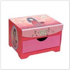 Pinkbagoly: Santoro Gorjuss Love Grows ékszertartó doboz fiókk...