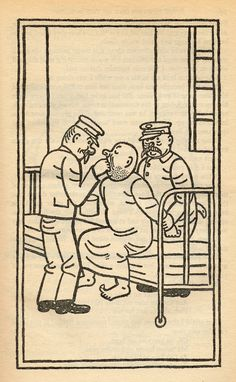 "Josef Lada – Illustration for Jaroslav Hašek's ""The Good Soldier Švejk and His Fortunes in the World War,"" 1924"