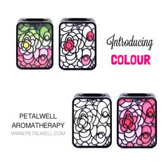 Introducing colour to #PetalwellAromatherapy
