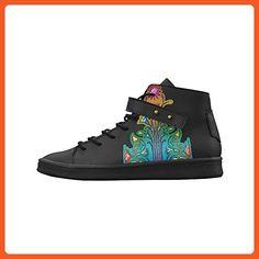 Artsadd Grunge Flower Ornaments Round Toe Womens Shoes Boost Sneaker - Sneakers for women (*Amazon Partner-Link)