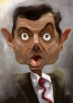 Image detail for -mr Bean By drljevicdarko | Famous People Cartoon | TOONPOOL