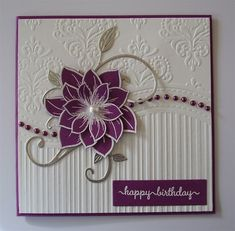 Granddaughters 18th birthday card and one for the charity box | docrafts.com