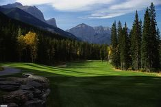 Stewart Creek Golf Course #Canmore