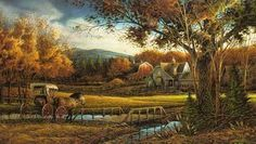 Terry Redlin - Wednesday Afternoon - Fall