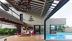 Villa de Retiro Monsoon por Abraham John ARQUITECTOS