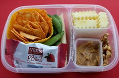Snack lunch with Van's Natural Foods