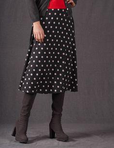 Swishy Jersey Skirt