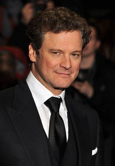 Colin Firth-a bit of an older crush, but with those looks and that accent, who can blame me?