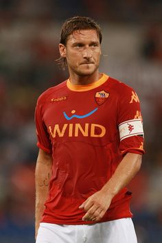 Roma's loyal gladiator, Francesco Totti
