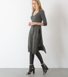 Maxi Tunic with Slits